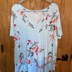 a.n.a printed Floral tshirt!